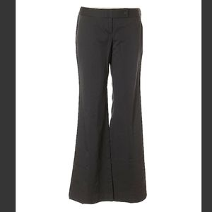 Ladies charcoal dark grey pants size 10 flare leg